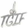 "SS.925 Cellphone Charm ""TGIF"""